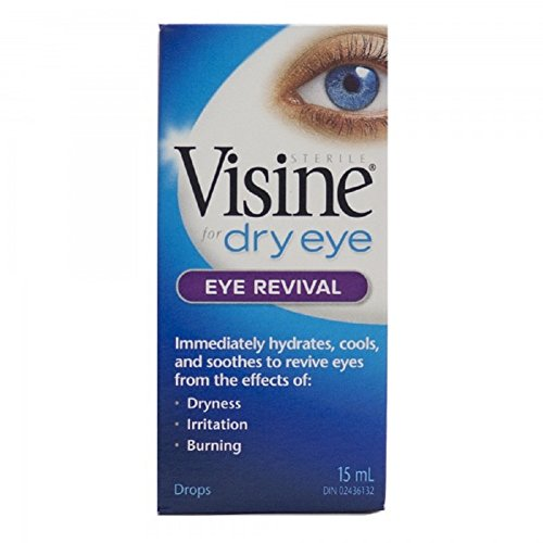 Visine for Dry Eyes Eye Revival Drops 15 ml