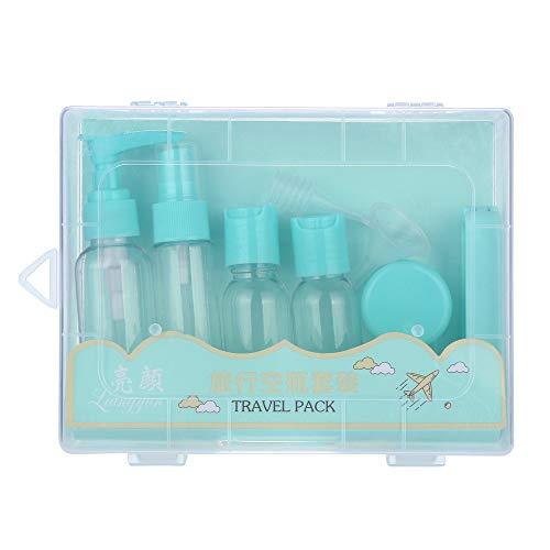 Joykith Spray Bottle Cosmetic Bag Portable Travel sub-Bottle Set Spray Bottle Travel Set 10Pcs Clear 50ml Empty Spray Bottle Travel Transparent Plastic Perfume Atomizer