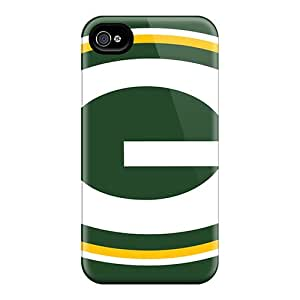 DeanHubley Apple Iphone 4/4s Protective Hard Cell-phone Case Custom HD Green Bay Packers Image [Efw1163Gfzs]