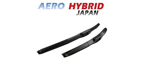 Aero Hybrid Top qulität 600/450 Limpiaparabrisas Ganchos Fijación - Black Line Edition nuevo para Mazda Mitsubishi Nissan Opel Renault: Amazon.es: Coche y ...