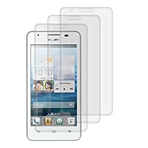 3x kwmobile screen protector MATT and ANTI-GLARE, resistant against finger prints for Huawei Ascend G520 / G525 - PREMIUM QUALITY