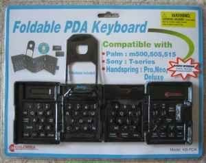 PALM, SONY, HANDSPRING FOLDABLE PDA ()