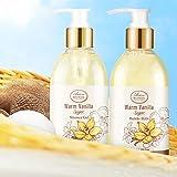 Bath & Shower Spa Basket Gift Set, Warm Vanilla