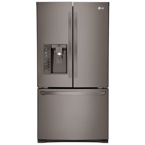 Lg - 24.0 Cu. Ft. Counter-depth French Door Refrigerator - B
