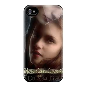 Scratch Protection Hard Cell-phone Cases For Iphone 4/4s (naA7719RhOT) Provide Private Custom Nice Twilight Series