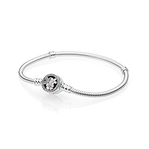 f0a9aa116 PANDORA Poetic Blooms Bracelet, Mixed Enamels & Clear CZ 590744CZ-21 cm 8.3  in
