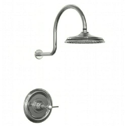 Jado 845451.444 Savina Pressure Balance Shower Set with Lever Handle, Antique Nickel ()