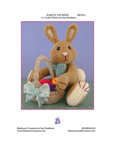 Harvey Thumper, a Crochet Pattern By Sue Pendleton