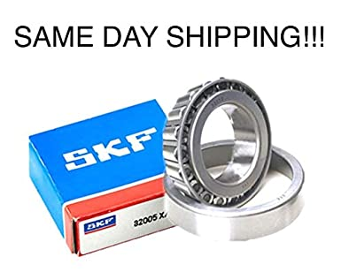 New SKF 32005 X, Tapered Roller Bearing Assembly (90366-25003