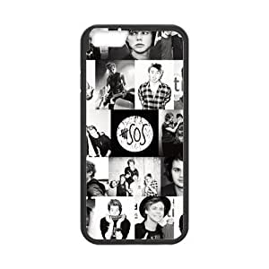 Onshop Custom 5 Seconds of Summer 5SOS Collage Phone Case Laser Technology for iphone 4 4s