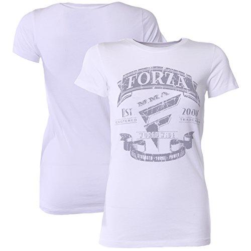 Forza Sports Women's Origins MMA T-Shirt – White – DiZiSports Store