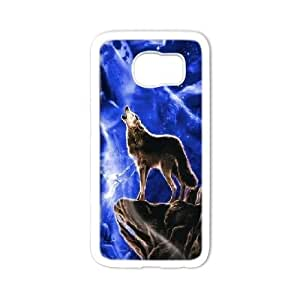 LTTcase Personalised Custom Rainbow Wolf Cover Case for samsung galaxy s6 edge