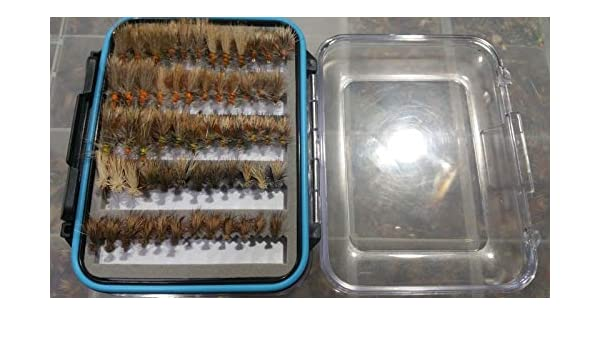 96 Stimulator /& Elk Hair Caddis  w// Fly Box US Veteran Owned