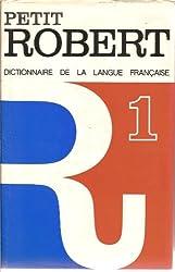 Petit Robert 1