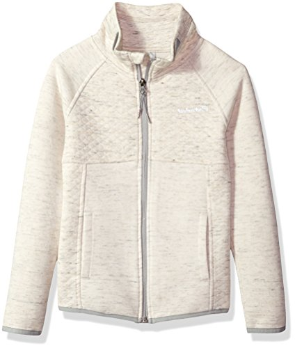Avalanche Big Girls' Full Zip Jacket, Oatmeal, 14/16