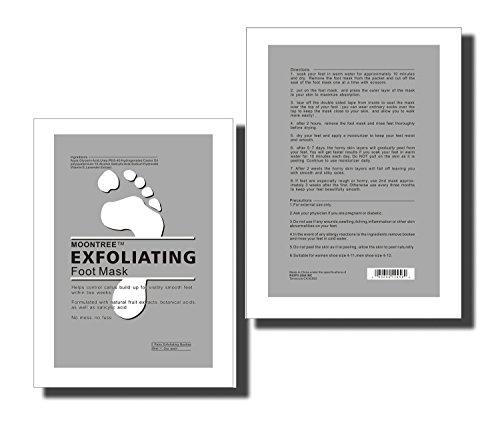 Dermapeel Exfoliating Foot Peeling Mask Feet Peel Mask Sheds Skin Calluses Feet-2Pair-4pcs by Dermapeel (Image #4)