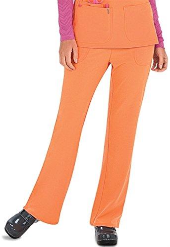 HeartSoul 20110 Women's Heart Breaker Low-Rise Pant Orange Crush 3X-Large