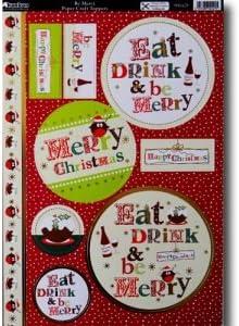 Kanban Be Merry A4 Topper Sheet