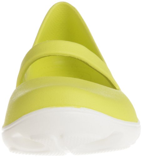 Crocs Dames Duet Sport Mary Jane Citrus / Wit