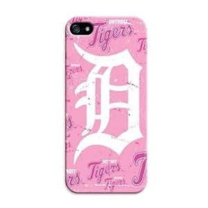 LarryToliver Customizable Baseball Detroit Tigers iphone Case - For iphone 5/5s - Designer Case