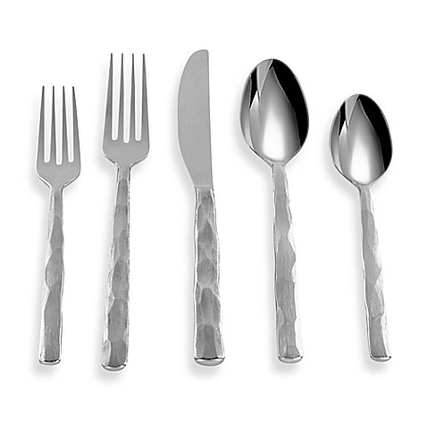 (Cambridge Silversmiths Kenilworth Mirror 20-Piece Flatware Set)