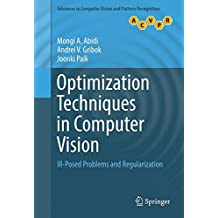 Optimization Techniques in Computer Vision: Ill-Posed Problems and Regularization