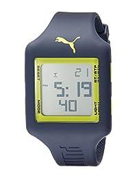PUMA Unisex PU910791014 Slide Digital Display Analog Quartz Blue Watch