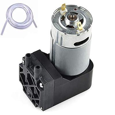 Vacuum Pump 12V Mini Diaphragm Air Compressor with Silicone Tube