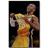 Kobe Bryant Shout Basketball Sports Poster - No Frame (24 x 36)