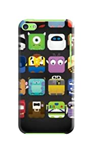 iphone 5c Case Cover, New Style,TPU, Colorful, The Most fashionable Design
