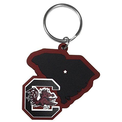 Siskiyou NCAA South Carolina Gamecocks Home State Flexi Key Chain