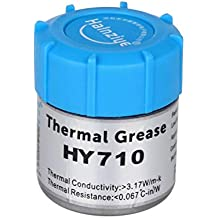 Halnze Silver Thermal Paste Carbon Based High Performance Heatsink Compound for All Coolers CPU GPU LED, Thermal Interface Material(0.35oz with Tool)
