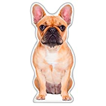 LiLiPi SHPL0164 French Bulldog Shaped Accent Pillow