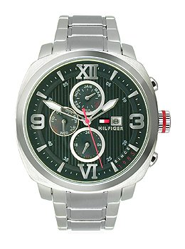(Tommy Hilfiger Classic Multifunction Stainless Steel Men's watch #1790981)