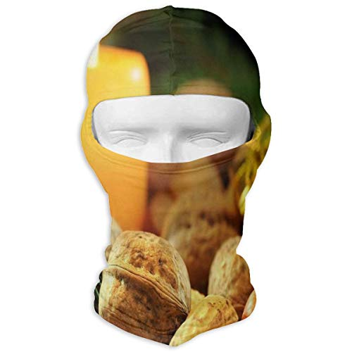 Balaclava Christmas Nut Candle Gift Full Face Masks Ski Headcover Motorcycle Hood For Cycling Sports Hiking