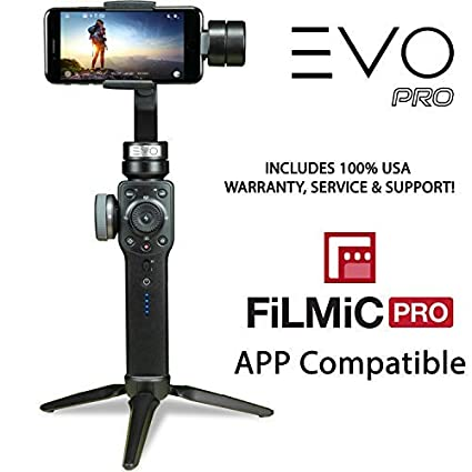 Amazon Com Evo Pro Smartphone Camera Stabilizer With Focus Pull