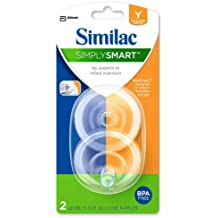 Similac SimplySmart Y Cut Nipple, 2-Count (Discontinued by Manufacturer)
