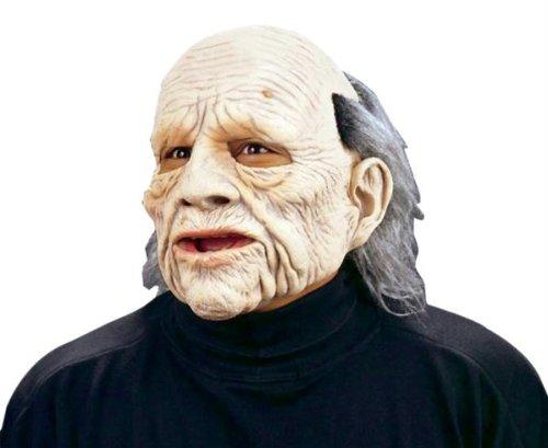 Zagone Geezer Mask, Old Man with  Balding Hair -