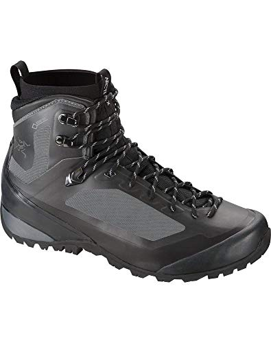 Backpacking Gtx Boot Mid (Arc'teryx Bora Mid GTX Hiking Boot - Men's Graphite/Black 11)