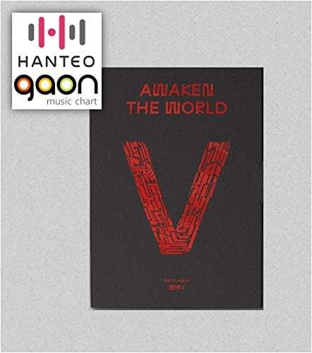 WayV - Awaken The World [World ver.] (The 1st Album) [Pre Order] CD+Photobook+Folding Poster+OthersExtra Decorative Sticker Set Photocard Set