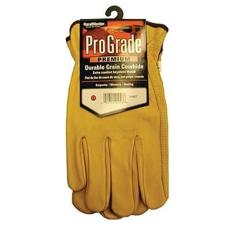 Magid B540ET Grain Keystone Unlined Leather with Elastic Thumb Glove Large