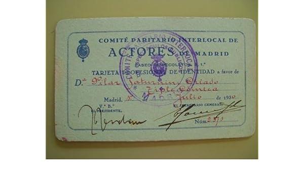TARJETA PROFESIONAL DE IDENTIDAD. Comité Paritario Interlocal de ...