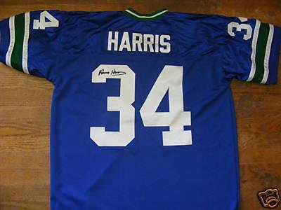 new products df553 c04cf Franco Harris Signed Jersey - Seahawks - Autographed NFL ...