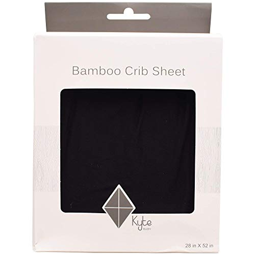 Kyte Baby Soft Crib Sheets Made from Bamboo Rayon Material (Midnight)