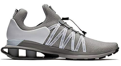 Nike Shox Gravity Mens Running Shoes (12 (M) US) Wolf Grey/Black-White