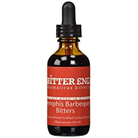 The Bitter End Memphis Barbecue Cocktail Aromatic Bitters - 2 oz 1 Smoky flavor~Chiptole,black pepper and more Great for Manhattans Hand crafted