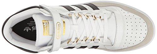 Adidas Originals Mænds Concord Ii Midten Mode Sneaker Hvid / Sort / Metallic / Guld AokQrIj