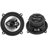 2) NEW BOSS NX524 5.25 300W 4-Way Car Audio Coaxial Speakers Stereo Black 4 Ohm