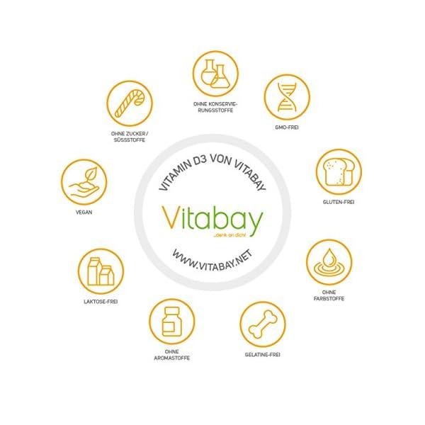Vitabay Vitamine D3 depot 20000 seulement une Végétalien Tablette/20 Jours