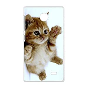 Adorable Little Kitten Kitty White Phone Case for Nokia Lumia X